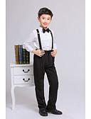 olcso Fiú ruházat-Gyerekek Fiú Alap Egyszínű Hosszú ujj Ruházat szett Rubin