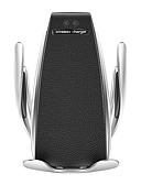 baratos Capinhas para Huawei-S5 sensor infravermelho automático rotação de 360 graus carregador de carro sem fio titular do telefone qi rápido aperto de carro montar ventilação de ar para apple xs xr samsung s9 huawei mate 20 pro