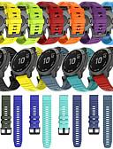 billiga Herrblazers och kostymer-snabbutlösande silikonurband för garmin fenix 6 pro / fenix 5 plus / tillvägagångssätt s60 / föregångare 935 / quatix5 safirklocka enkel passform utbytbar sportarmband armband armband armband