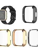 billiga Smartwatch-fodral-fall för versa 2 gummikompatibilitet fitbit elektropläterande nyckelfärdig