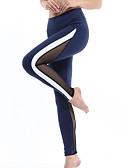 ราคาถูก จั๊มสูทและเสื้อคลุมสำหรับผู้หญิง-สำหรับผู้หญิง เอวสูง กางเกงโยคะ แฟชั่น สีดำ สีเทา+สีขาว สีน้ำเงินกรมท่า สีเทา สีฟ้า+สีขาว ตารางไขว้ วิ่ง การออกกำลังกาย ยิมออกกำลังกาย ถุงน่องการขี่จักรยาน เลกกิ้ง กีฬา ชุดทำงาน แห้งเร็ว Butt Lift