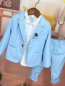 Χαμηλού Κόστους Κοστούμια για Παιδιά που Κουβαλάνε τις Βέρες-Ουρανί Πολυεστέρας Κοστούμι για Αγοράκι με Βέρες - 1 Τεμάχιο Περιλαμβάνει Επίστρωση / Πουκάμισο / Παντελόνια