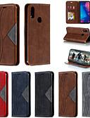 baratos Capinhas para Xiaomi-Capinha Para Xiaomi Xiaomi Redmi Note 7 / Xiaomi Redmi Note 7 Pro / Xiaomi Redmi 7 Carteira / Porta-Cartão / Antichoque Capa Proteção Completa Sólido PU Leather