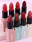 billige Maskaraer-merke cmaadu sexy 8 farger varig fuktighetskrem matt leppestift vanntett fløyel lipgloss skjønnhetssminke