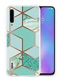 baratos Capinhas para Xiaomi-Capinha para xiaomi mi 9t / mi 9t pro / redmi k20 pro ultrafina / estampada capa traseira padrão geométrico / mármore tpu para xiaomi cc9 / cc9e / redmi k20 / note 8 pro / redmi 8a / 9 lite