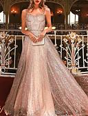 Χαμηλού Κόστους Βραδινά Φορέματα-Γυναικεία Βασικό Swing Φόρεμα - Μονόχρωμο, Πούλιες Μακρύ Ώμοι Έξω