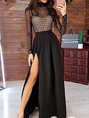 Χαμηλού Κόστους Casual Φορέματα-Γυναικεία Swing Φόρεμα - Μονόχρωμο Μακρύ