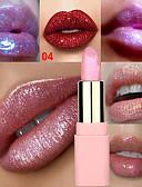 billige Øyenbryn-merke lulaa 8 farger perlescent leppestift skinnende gullrosa fuktighetsgivende lipgloss varig leppemakeup