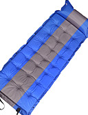 ราคาถูก เดรสเด็กผู้หญิง-เบาะรองนอนแบบพองได้เอง เสื่้อแบบสูบลม กลางแจ้ง Portable Moistureproof สบาย เส้นใยสังเคราะห์ PVC 190*60*5 cm การตกปลา ชายหาด แคมป์ปิ้ง ฤดูใบไม้ร่วง ฤดูใบไม้ผลิ ฤดูร้อน ส้ม แดง ฟ้า / ทำให้เป็นสองเท่า