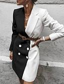 baratos Vestidos Estampados-Mulheres Elegante Bainha Vestido Estampa Colorida Acima do Joelho