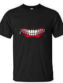 """billige T-skjorter og singleter til herrer-Inspirert av Tokyo Ghoul Cosplay Anime  """"Cosplay-kostymer"""" Japansk Cosplay T-skjorte T-Trøye Til Herre"""