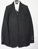 Χαμηλού Κόστους Κοστούμια για Παιδιά που Κουβαλάνε τις Βέρες-Μαύρο Πολυεστέρας Κοστούμι για Αγοράκι με Βέρες - 1 Τεμάχιο Περιλαμβάνει Επίστρωση / Γιλέκο / Πουκάμισο