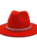 Χαμηλού Κόστους Women's Hats-Γιούνισεξ Μονόχρωμο Πάρτι Βαμβάκι Τύπου bucket Μαύρο Κρασί Ανοιχτό Γκρι