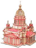 Χαμηλού Κόστους Στηρίγματα και βάσεις τηλεφώνου-παζλ Παζλ 3D Δομικά στοιχεία DIY παιχνίδια διάσημα κτίρια Χαρτί Μπεζ Μοντελισμός & Κατασκευές