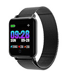 cheap Smart Watches-M19 Unisex Smart Wristbands Android iOS Bluetooth Waterproof Touch Screen Sports Long Standby Anti-lost ECG+PPG Pedometer Call Reminder Activity Tracker Sleep Tracker