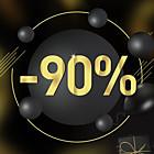 Até 90% OFF