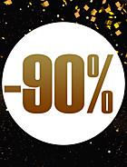 Jusqu'à -90 %