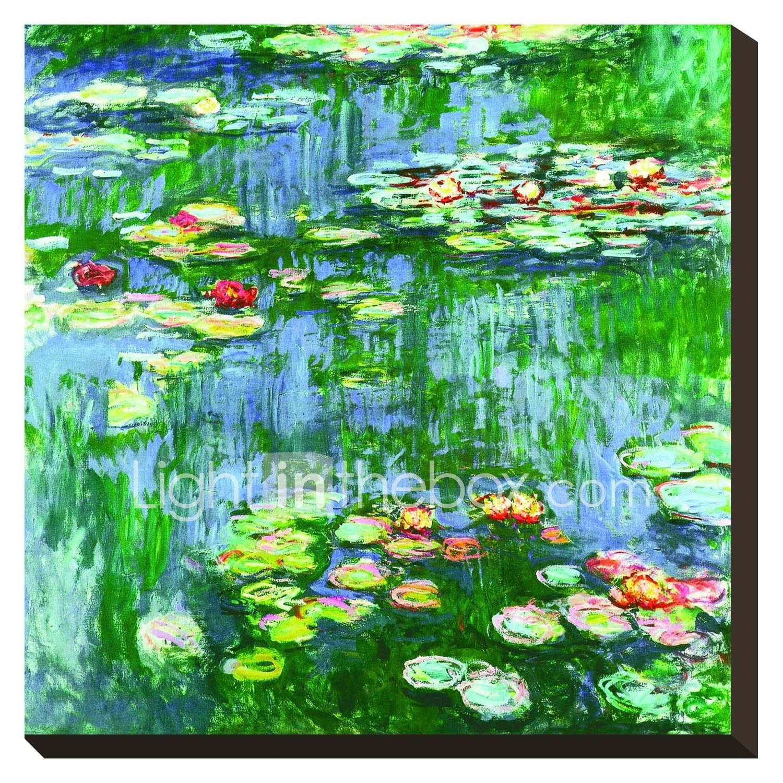 Artist Claude Monets Water Lilies TM School Backpack