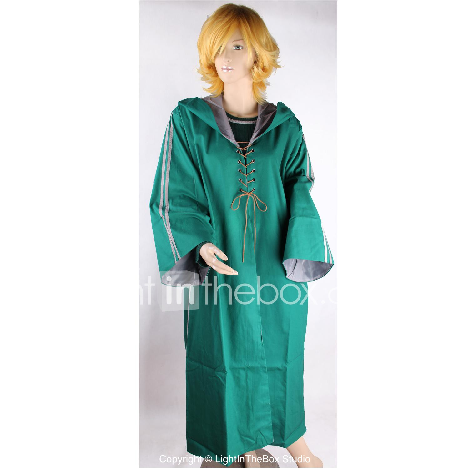 Magic Boy Quidditch Cosplay Costume Slytherin House Robe 2246835 2020 90 19