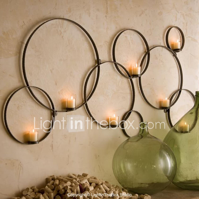 Wall Art Decor Circular Chain