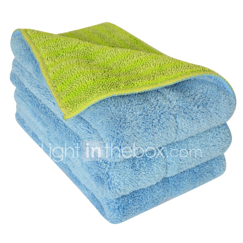 Sinland Schiebestock Reiniger Multi Use Mikrofaser Handtücher& Pads Flip Mop Refill mop Tücher 11