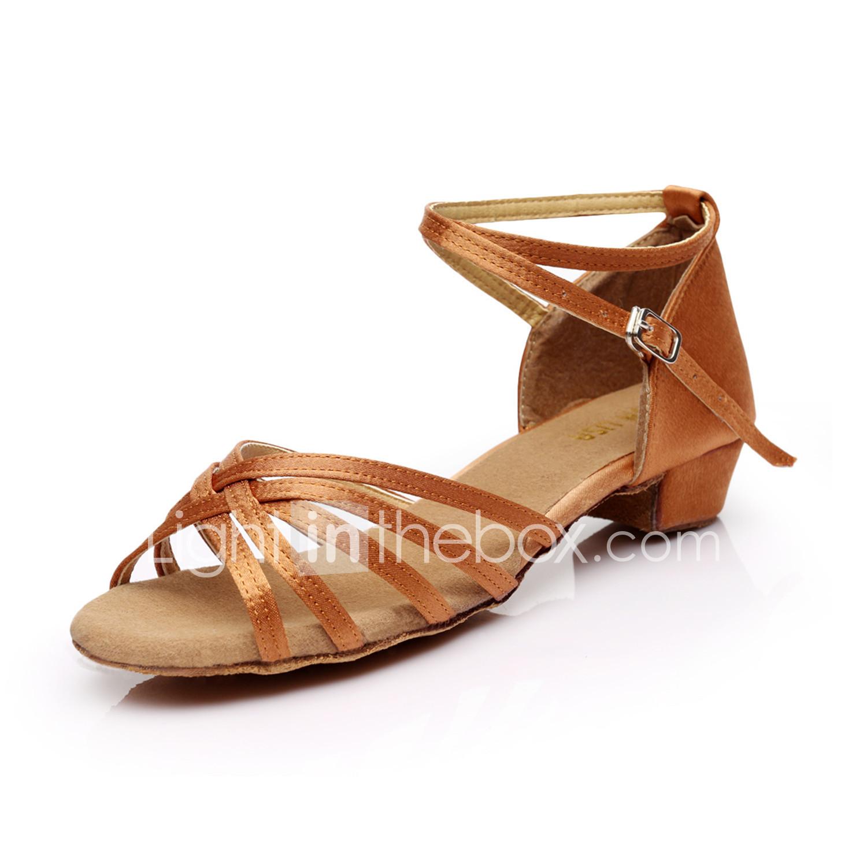 Lisa leopard print ladies ballroom latin dance shoes 3 inch heel