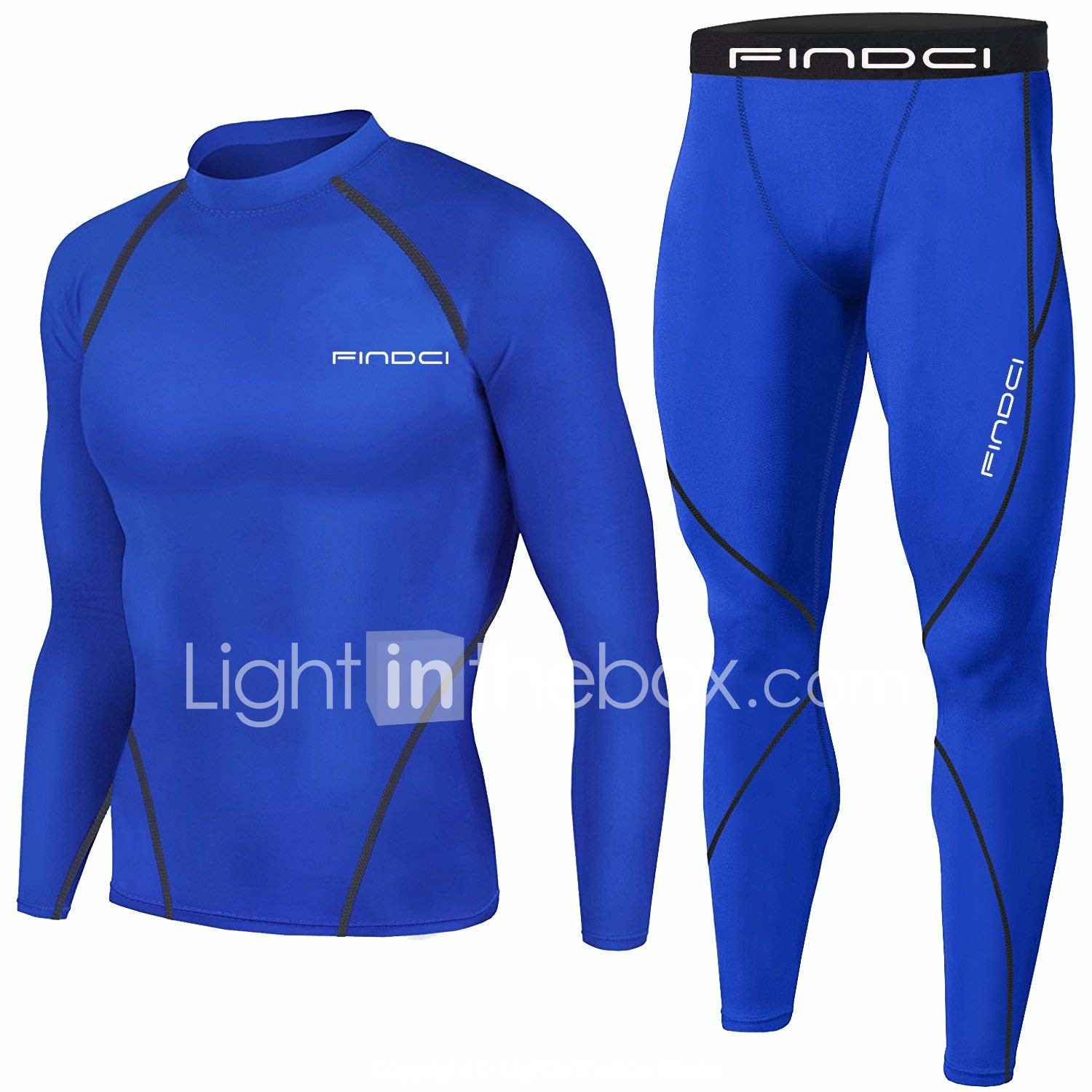 Findci Womens Shirt Short Pants Soft Compression Sweatsuits Sports Tight Base Layer Suits