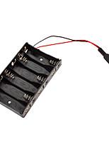6 х АА Держатель батареи с dc2.1 разъем питания для (для Arduino) (работает с официальным (для Arduino) плат)