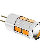 Недорогие -1.5 W LED лампы типа Корн 2500 lm G4 T 10 Светодиодные бусины SMD 5730 Тёплый белый 12 V