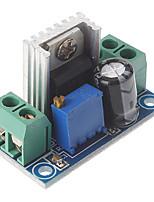 lm317 dc 40v à 1.2 ~ 7 v tension abaisser la carte de circuit réglable régulateur de tension d'alimentation