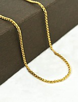 Golden Stainless Steel / Titanium Steel / Gold Plated Daily / Casual / Sports Jewelry