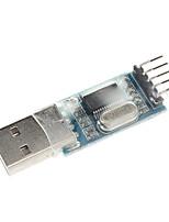 pl2303 usb à rs232 ttl convertisseur adaptateur module avec couvercle antipoussière
