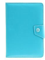 7inch cassa del sacchetto di cuoio universale in PU con supporto per Tablet PC