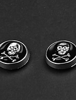 Earring Skull Clip Earrings Jewelry Party / Daily Alloy Silver