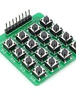 DIY MCU Extension 4 x 4 16-Key Module Matrice clavier pour Arduino (Fonctionne avec Arduino Cartes officielles)