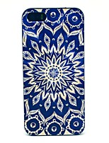 economico -Custodia Per iPhone 5 Apple Custodia iPhone 5 Fantasia/disegno Per retro Fiori Mandala Resistente PC per iPhone SE/5s iPhone 5