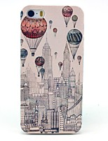 Ballooning Over New York City Pattern Hard Case for iPhone 5/5S