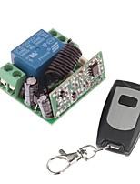 Module de relais de l'alimentation à distance 12V 1 canal sans fil avec télécommande (DC28V-AC250V)