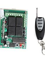 Module de relais de l'alimentation à distance 12V 4 canaux sans fil avec télécommande (DC 14V)