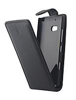 abordables -Funda Para Nokia Nokia Lumia 930 Funda Nokia Flip Funda de Cuerpo Entero Color sólido Dura Cuero de PU para