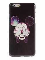 abordables -Para iPhone 8 iPhone 8 Plus iPhone 6 iPhone 6 Plus Carcasa Funda Diseños Cubierta Trasera Funda Caricatura Dura Metal para iPhone 8 Plus