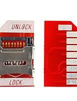 tf aux favoris de carte SD pour Raspberry Pi - rouge