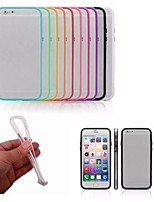 Per iPhone 8 iPhone 8 Plus iPhone 6 iPhone 6 Plus Custodie cover Resistente agli urti Antiurto Custodia Tinta unica Resistente PC per