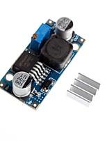 lm2596 - adj continu-continu réglable Tension de réduction abaisseur module de dépressurisation avec dissipateur de chaleur en aluminium