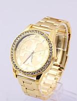 Недорогие -Жен. Модные часы Кварцевый Золотистый / Роуз Аналоговый Золотой Розовое золото