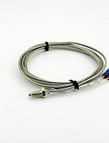 k câble du capteur de température M6 x 5mm type de sonde - argent (2m)