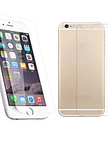 2.5D Front and Back Premium Tempered Glass Screen Protective Film for iPhone 6S Plus/6 Plus