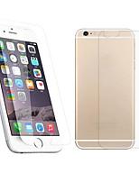 economico -davanti 2.5D e schermo in vetro temperato premio indietro pellicola protettiva per il iphone 6S plus / 6 Plus