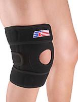 Attelle de Genou pour Cyclisme Randonnée Fitness Jogging Course/Running Unisexe Ajustable Extensible Respirable Sports Nylon 1pc