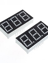 Compatible (for Arduino) 3-Digit 12-Pin Display Module - 0.56in.(2PCS)